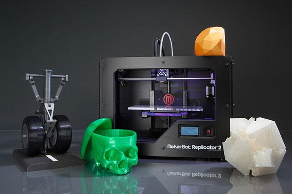 Настольный сканер компании MakerBot