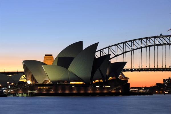 Оцифровка Оперного театра в Сиднее
