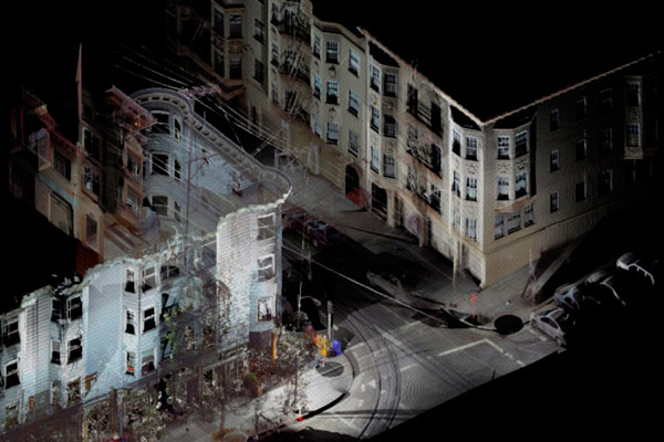 Сканирование зданий
