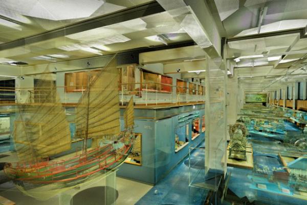 Виртуальная выставка морской галереи в Научном музее