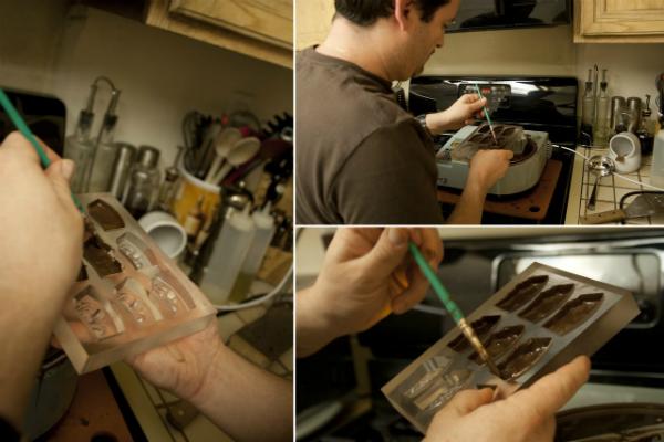 Шоколадные фигурки при помощи 3d сканирования и 3d печати