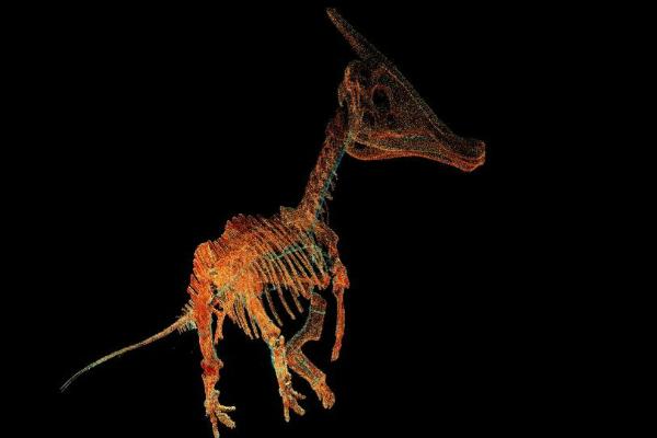 Новая, цифровая жизнь динозавров
