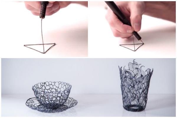 Ручка в качестве 3d принтера