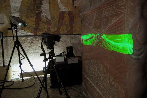 Реплика гробницы Тутанхамона