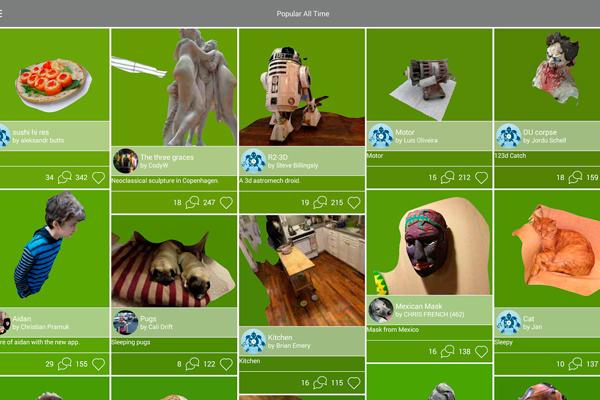123D Catch превращает ваш мобильный в 3d сканер