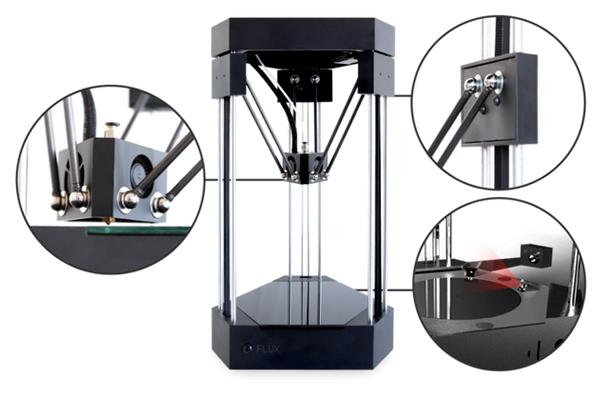 FLUX - модульный All-in-One 3d принтер