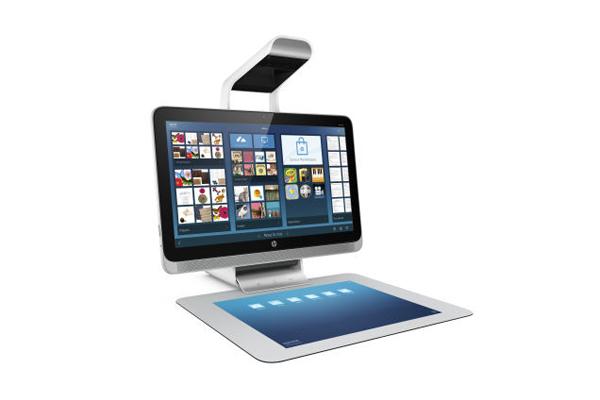 Компьютер с 3d сканером от HP