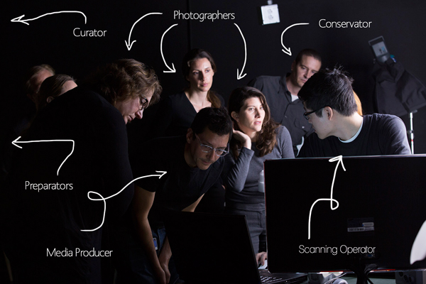 3d сканирование в музее Гетти