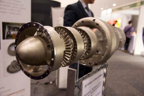 Реактивный двигатель при помощи 3d принтера