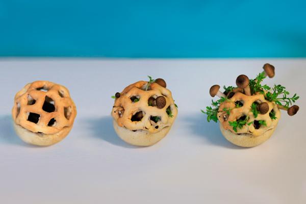 3d закуски при помощи 3d печати