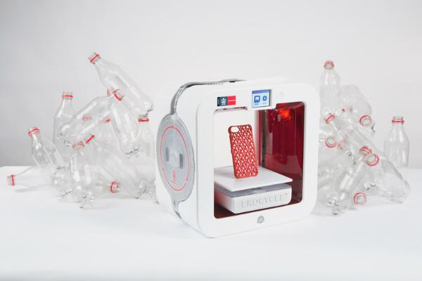 Переработанные пластиковые бутылки как сырье для 3d принтера
