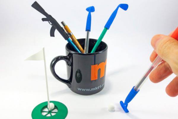 Настольный мини гольф при помощи 3d печати