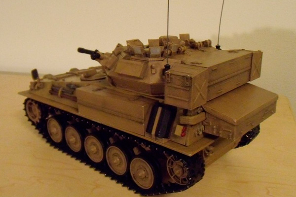 Танк FV101 Scorpion