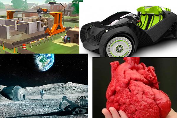 Прогнозы реальной 3d печати машин, домов и органов