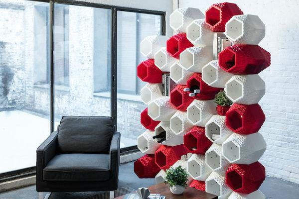 3d печатная модульная стена
