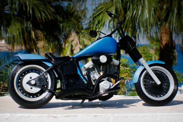 Возрождение мотоцикла при помощи 3d печати