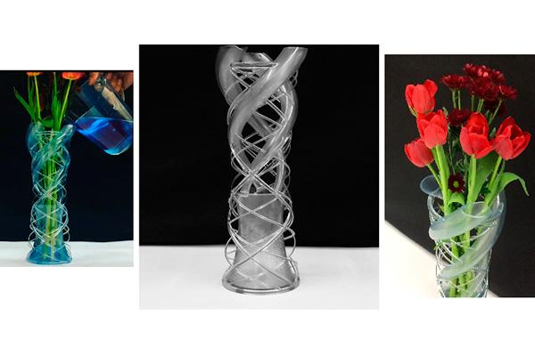 Необычная ваза, вдохновленная ДНК человека