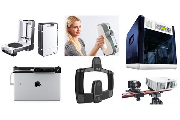 Самые доступные 3d сканеры в 2015 году