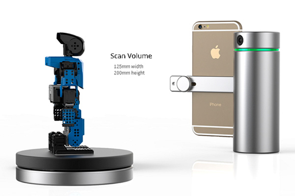 Новый 3d сканер для iPhone от Eora 3d