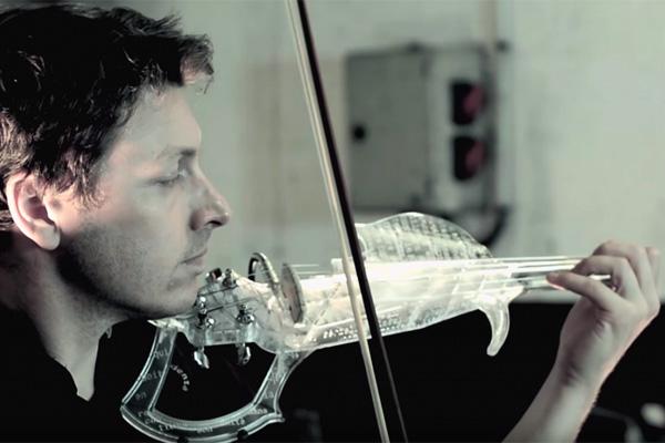3D Varius - скрипка Лорана Бернадака