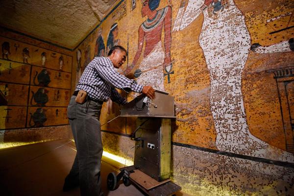 3d сканирование гробницы
