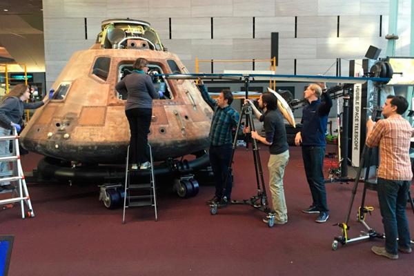 """Сканирование модуля """"Аполлон 11"""""""