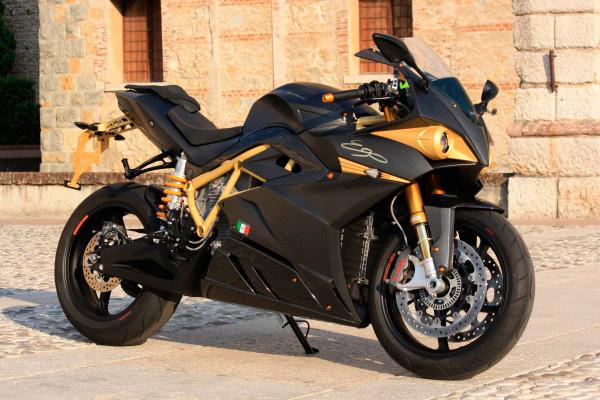 Экологичный мотоцикл Energica