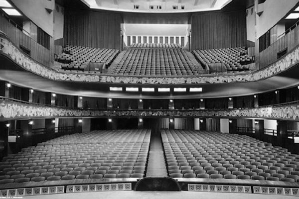 3d сканирование театра в Милане