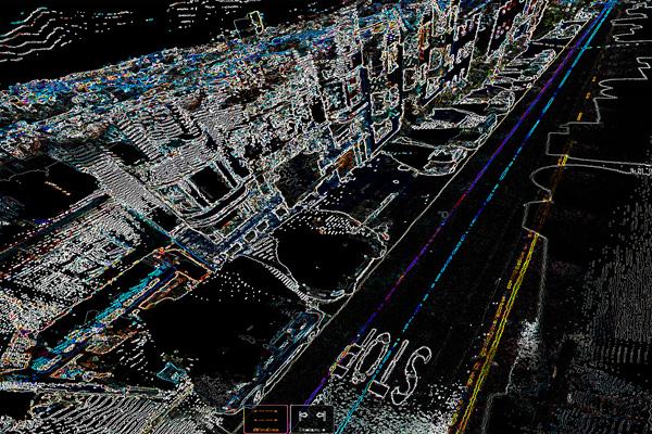 3d сканирование местности и города