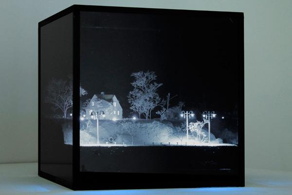 Мистические пейзажи Мэтью Шмитта созданные при помощи 3d печати
