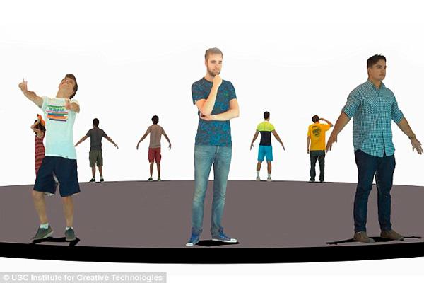 3d сканирование позволит создавать собственные аватары для игр
