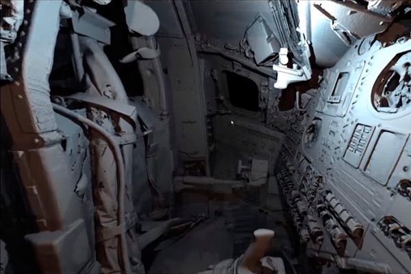 Трехмерная оцифровка посадочного модуля