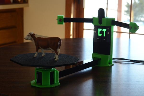 Юные фермеры создали 3d сканер за 100 долларов