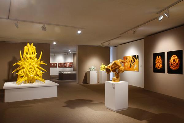 Напечатанные скульптуры Ника Эрвинка