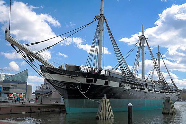 Военно-морской корабль 1855 года сохранили для поколений