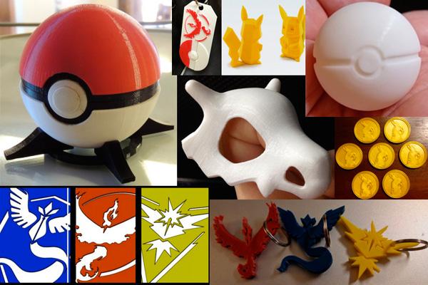 10 предметов из Pokemon GO, которые можно изготовить на 3d принтере