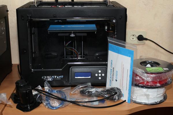 Обзор 3d принтера FlashForge Creator Pro