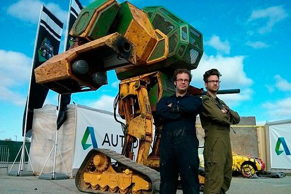 3d сканирование помогает создавать боевых роботов