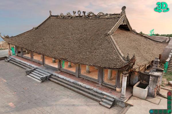 Команди из VR3D оцифровала вьетнамский памятник архитектуры