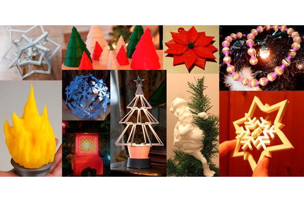 10 новогодних украшений на 3d принтере