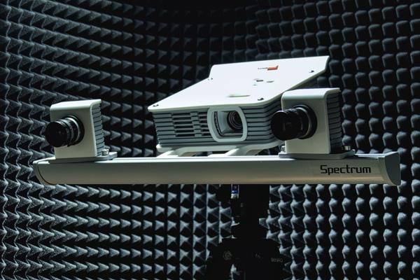 Spectrum. Выбор цвета для нового 3d сканера