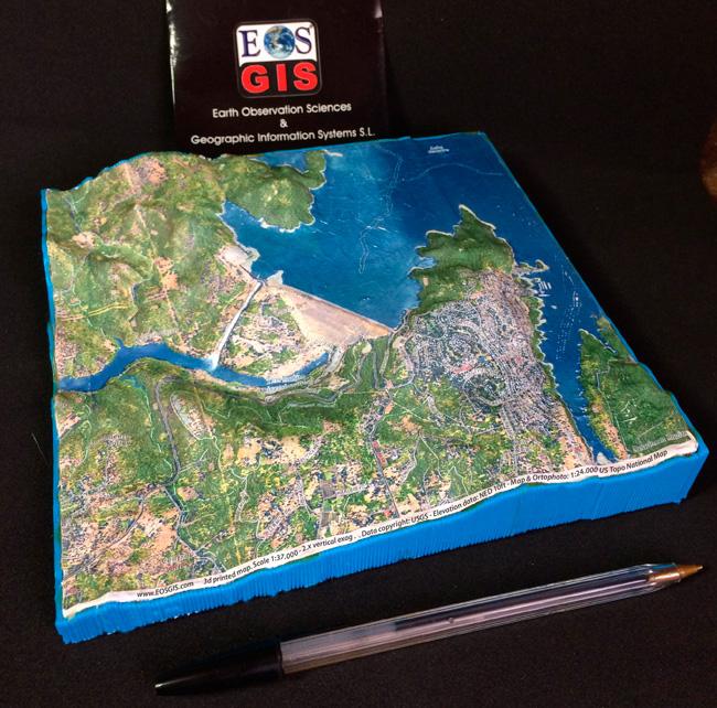 Интерактивная 3d модель детально показывает калифорнийскую плотину