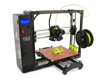 3d принтер Aleph Objects LulzBot TAZ 6