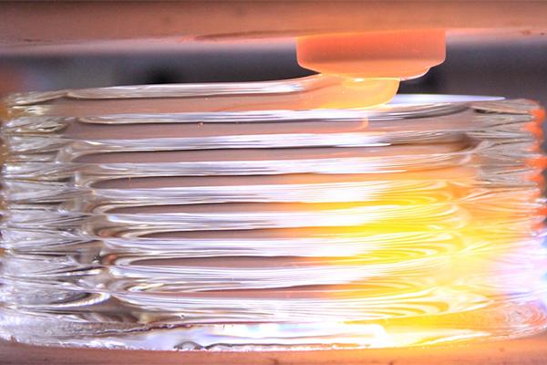 Эволюцию 3d печати стеклом