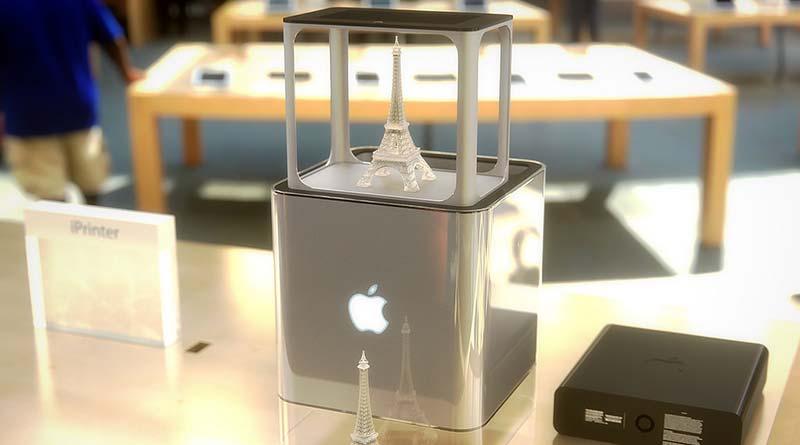 3d принтер Apple