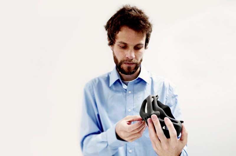 Прототип дыхательной маски