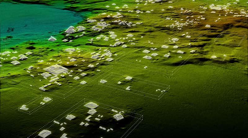 """Лазерное 3d сканирование обнаружило """"мегаполис"""" майя в джунглях Гватемалы"""