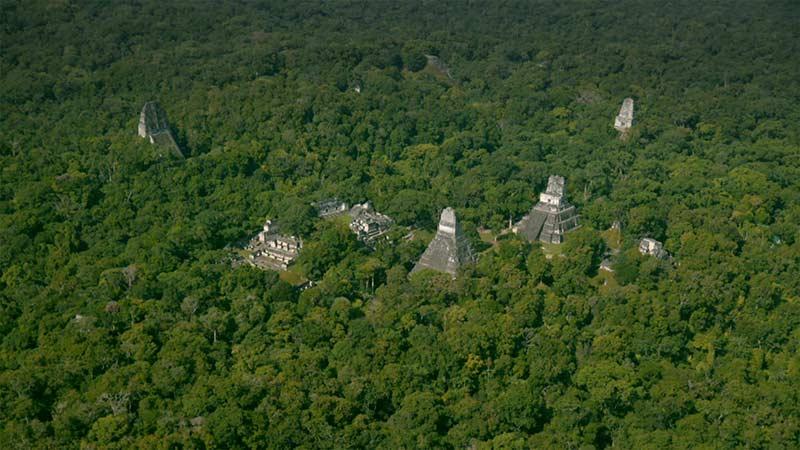 Город Майя в Гватемале