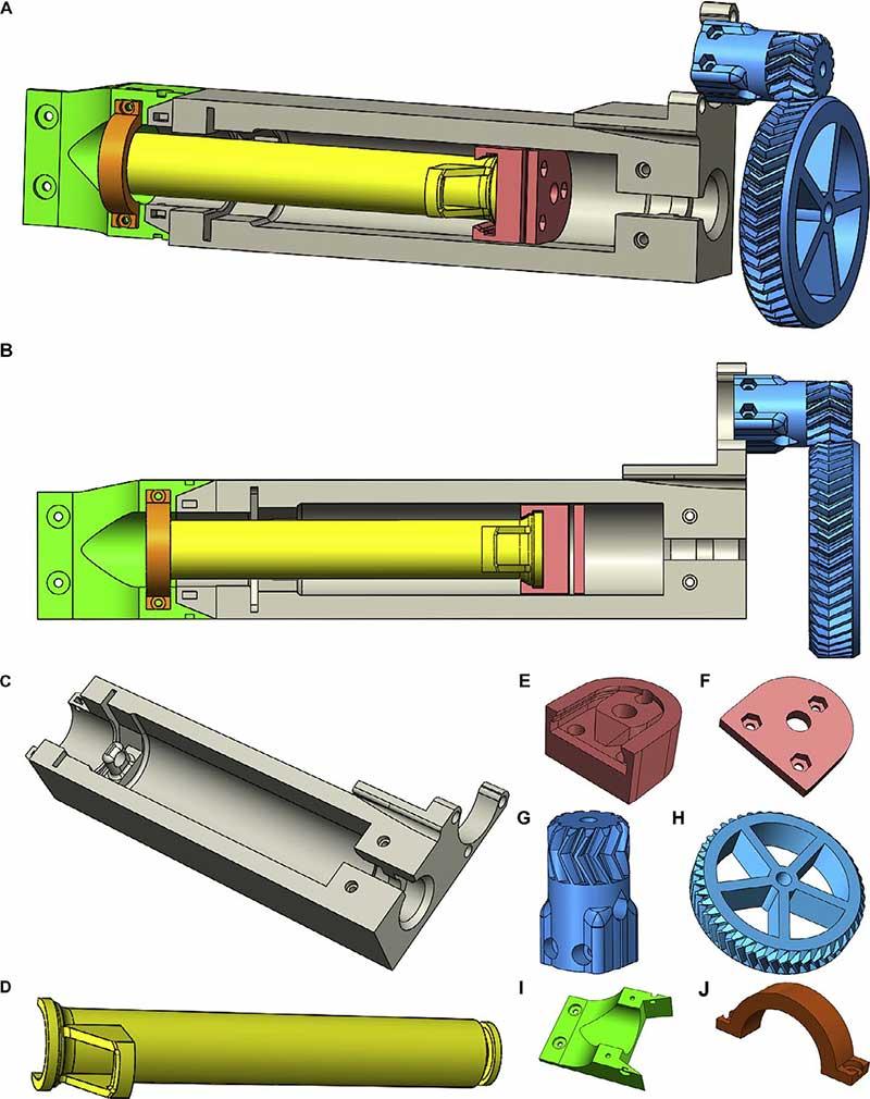 3d модели биопринтера