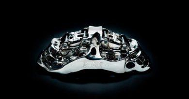 Компания Bugatti печатает на 3d принтере титановые тормоза